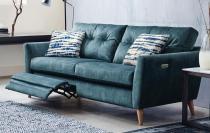 fabric recliner sofas in classic